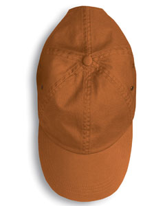 embroidered anvil low profile twill cap, unconstructed
