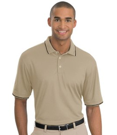 Custom embroidered Nike Golf - Dri-FIT Classic Tipped Polo. 319966