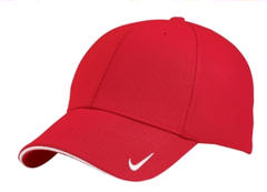 ustom embroidered Nike Golf - Dri-FIT Mesh Swoosh Flex Sandwich Cap. 333115