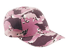 custom embroidered 6977CA Yupoong Flexfit® Cotton Camouflage Cap