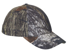 custom embroidered 6999 Yupoong Flexfit® Mossy Oak® Break-Up Pattern Camouflage Cap