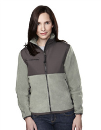 Tri-Mountain Custom embroidered 7420 10.2 oz arctic ladies Panda Fleece Jacket