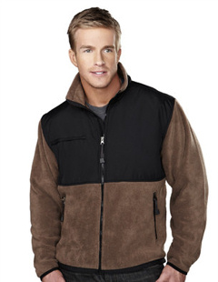 Tri-Mountain Custom embroidered Tri - Mountain 7450 10.2 oz Frontiersman Panda Fleece Jacket