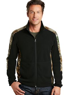 Custom Embroidered Port Authority ® Camouflage Microfleece Full-Zip Jacket. F230C