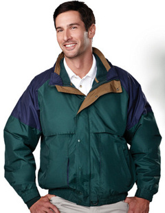 Custom embroidered Tri Mountain's 7800 - A complete 3-in-1 system jacket