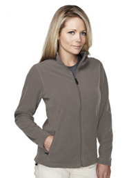 Custom embroidered Tri - Mountain 7815 Bellevue Ladies 10.5 oz. heavyweight 100% polyester anti-pilling micro fleece