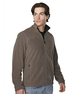 Custom embroidered Tri - Mountain 7825 Blaine Men's 10.5 oz. heavyweight 100% polyester anti-pilling micro fleece