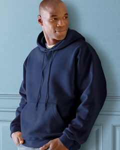 Custom embroidered 82130 Fruit of the Loom 12 oz. SupercottonT 70/30 Pullover Hood sweatshirt .