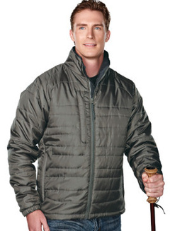 custom embroidered Tri Mountain 8255 The Brooklyn Jacket, Poly Shell, Microfiber Lining
