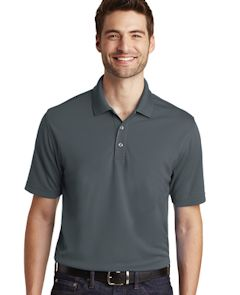 Custom embroidered Port Authority ® Dry Zone ® UV Micro-Mesh Polo. K110
