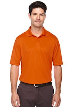 Custom embroidered 88181 Ash City - Core 365 Men's Origin Performance Piqué Polo.