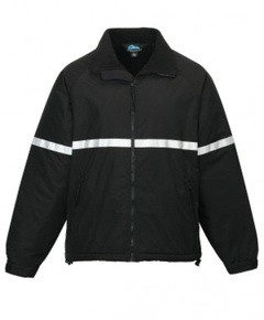custom embroidered 8835 The Sector heavy Fleece lined Nylon Jacket