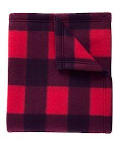 Custom embroidered Port Authority ® Core Printed Fleece Blanket. BP61