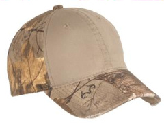 This custom embroidered Port Authority ® - Camo Cap with Contrast Front Panel. C807.