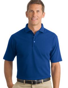 CornerStone ® - Industrial Pocketless Pique Polo. CS402 with embroidered logo!