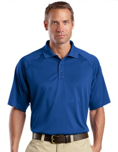 custom embroidered CornerStone® Tall Select Snag-Proof Tactical Polo. TLCS410