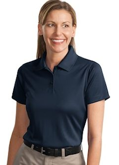 Custom embroidered CornerStone ® - Ladies Select Snag-Proof Polo. CS413