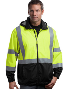 embroidered ANSI Class 3 Safety Windbreaker. CSJ25.