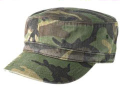 ustom embroidered District � - Distressed Military Hat. DT605