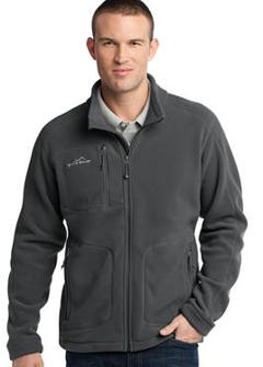 Custom embroidered Eddie Bauer � - Wind Resistant Full-Zip Fleece Jacket. EB230