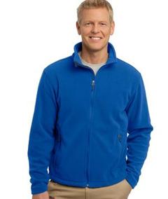 Custom Embroidered Polar Micro Fleece Jackets, Bonded Fleece, Full ...