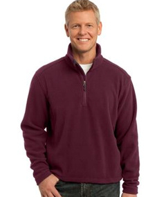 custom embroidered Port Authority � - Value Fleece 1/4-Zip Pullover. F218