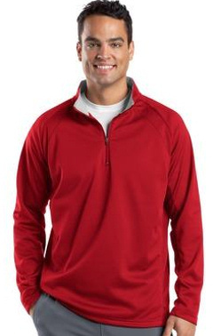 Custom embroidered Sport-Tek ® - Sport-Wick ® 1/4-Zip Fleece Pullover