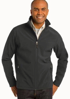 Custom Embroidered Jackets Bonded Soft