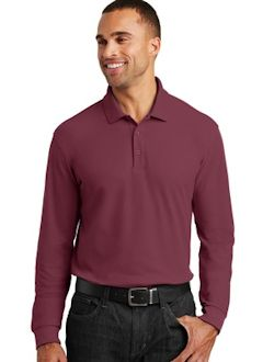 af8174551 Port Authority ® Long Sleeve Core Classic Pique Polo. K100LS