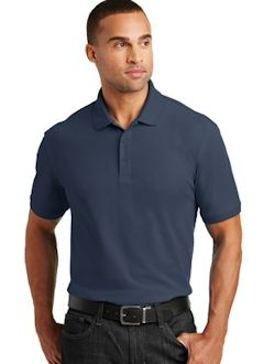 Custom embroidered Port Authority ® Core Classic Pique Polo. K100
