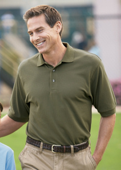 Port Authority® - Pique Knit Sport Shirt. K420, embroidered with your logo.
