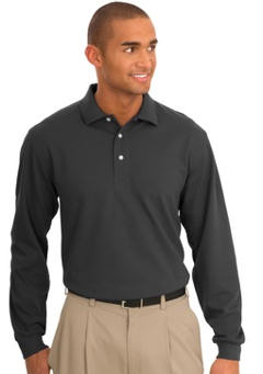custom embroidered Port Authority® Signature - Rapid DryT Polo Sport Shirt. TLK455LS - Long Sleeve