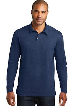 Port Authority ® Long Sleeve Meridian Cotton Blend Polo. K577LS