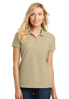 c839f9e7 Custom Embroidered Ladies Polo Golf shirts, Pique, Pima Cotton ...