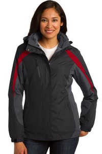 Custom Embroidered Port Authority ® Colorblock 3-in-1 Jacket. l321