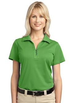 Custom embroidered Port Authority ® Ladies Tech Pique Polo. L527