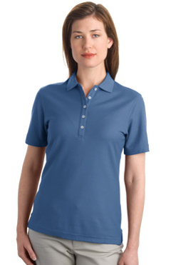 Port Authority ® - EZCottonT Pique Ladies Sport Shirt. L800 embroidered with left chest logo!