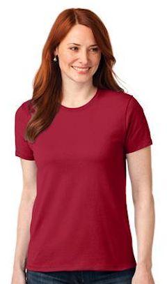 bbbc980e2fa Port   Company ® - 50 50 Ladies Cotton Poly T-Shirt. LPC55