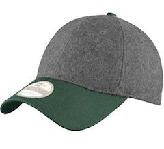 Custom embroidered New Era ® Melton Wool Heather Cap. NE206