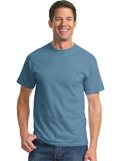 Custom embroidered Port & Company ® - Tall Essential T-Shirt. PC61T