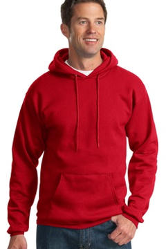 custom embroidered Port & Company® - Pullover Hooded Sweatshirt. PC90HT