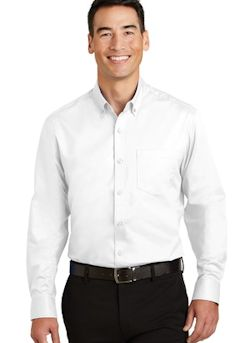 Port Authority ® SuperPro T Twill Shirt. S663