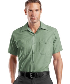 custom embroidered industrial work shirts redkap