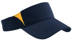 Sport-Tek ® - Dry Zone� Colorblock Visor. STC13 with your custom embroidery.
