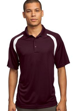 Custom Embroidered Sport-Tek ® - Dry ZoneT Colorblock Raglan Polo. T476