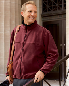 Custom embroidered Chestnut Hill CH900 Microsfleece full zip jacket, embroidered with your logo!
