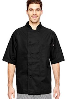 Custom Embroidered DC105 Dickies 5 oz. Cool Breeze Chef Coat