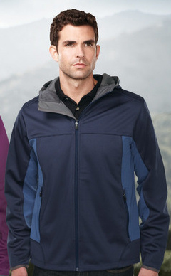 #CharlesRiver #corporate #Mens Soft Shell #Jacket #custom #embroidered #logo