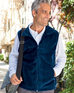 embroidered M985 Harriton 8 oz. Fleece Vest